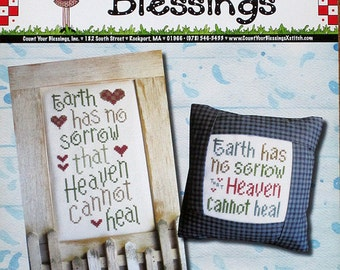 Heaven Heals - Cross Stitch Design by Count Your Blessings