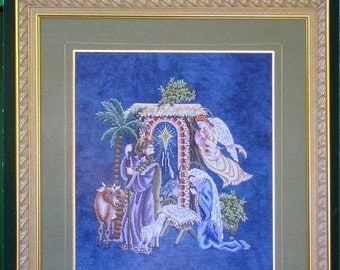 The Nativity - Cross Stitch Designs for The Heirloom Stitcher by Glendon Place