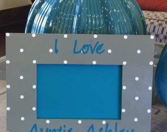 Custom  Picture Frame for Auntie or Aunt