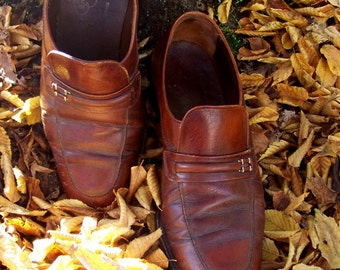 70s Classic Florsheim Imperial Loafers 9