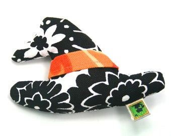 Cat Toy Catnip Halloween Witches Hat