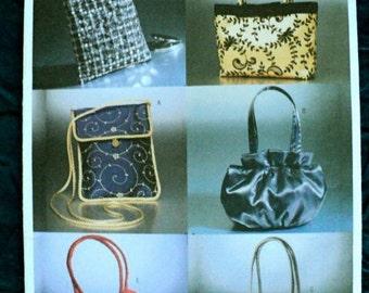 Evening Bags Pattern - Butterick Pattern No. 6371