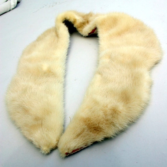 Real Fur Collar for Upcycling