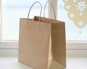 26cm X 16cm X 26cm Kraft Brown bag (8bags)-swp183