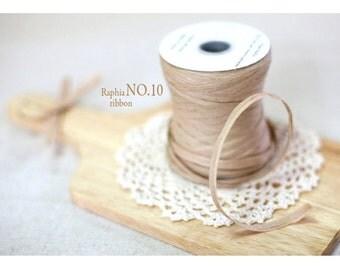 Raffia Ribbon -Light Kraft  (swp0157)