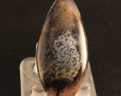 Rare Amethyst Sage Agate Cabochon
