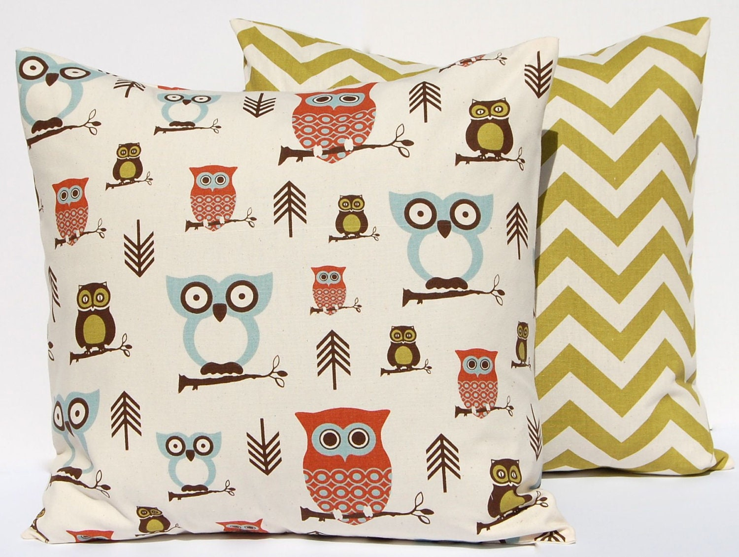 Owl Throw Pillow Etsy : Throw Pillows Owl Decor Nursery Decor Pillow by FestiveHomeDecor