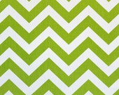 Child Toddler Kid's Play Teepee/Tent Hideaway in Zig Zag Chevron Chartreuse Green White