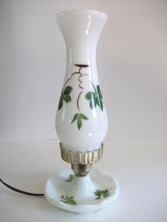 Vintage Electric Hurricane Lamp By Ricsrelics On Etsy