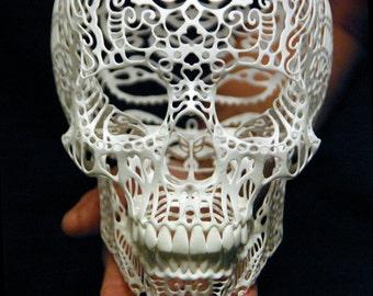Skull Sculpture Crania Anatomica Filigre (large)