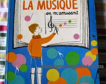 FRENCH BOOK J' Apprends La Musique  Exc 1968 Original Paris Odege Music Musical