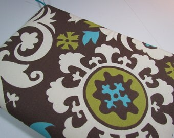 MacBook Pro Case 13 inch Sleeve Padded Cover, Padded Laptop sleeve - Suzani