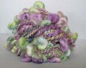 Handspun Art Yarn - Sea Grape Halos