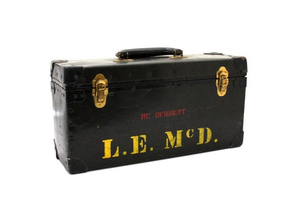 Vintage MILITARY Ammo Box Stash Box