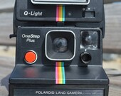 Incredible Polaroid One-Step Plus With Q-Light