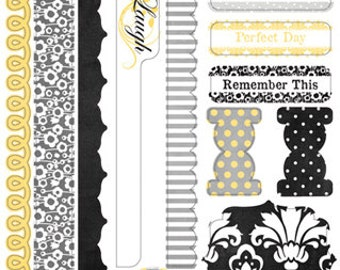 Carolina Breeze Stickers byTeresa Collins 7x11