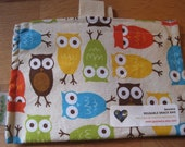 Rainbow Owls Eco Friendly Snack Bag by Seweco/Easy Open /Child Friendly Tabs