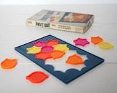 Vintage Kwazy Quilt Puzzle Game Hi-Q  Brain Teaser