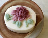 Peony Rose Silicone Soap Mold ( Soap Republic )