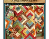 PDF Quilt Pattern Scrappy Trails Jelly Charm Friendly pattern Carlene Westberg Designs