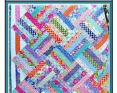 PDF Quilt Pattern Supernova Carlene Westberg Designs Jelly Strip Quilt