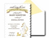 Duckling Invitation set by Loralee Lewis