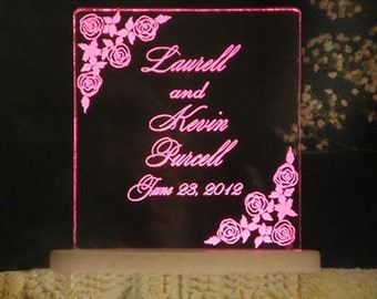 FLORAL  Wedding Cake Topper  - CUSTOMIZE with your flower of choice - Light OPTION