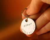 Pet Name Tag - Hand Stamped