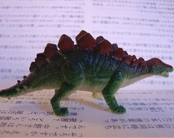 Huge Stegosaurus Dinosaur Brooch Pin - Roof lizard - Covered lizard