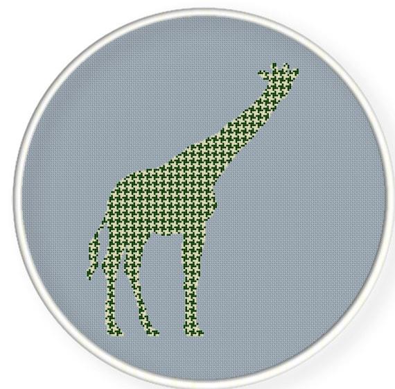 Instant download,free shipping,Cross stitch pattern, Cross-StitchPDF,giraffe ,cloth pattern,zxxc0297