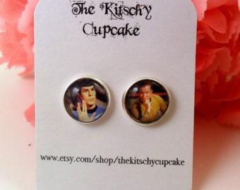 Star Trek earrings