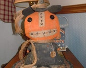 Primitive Pumpkin Witch