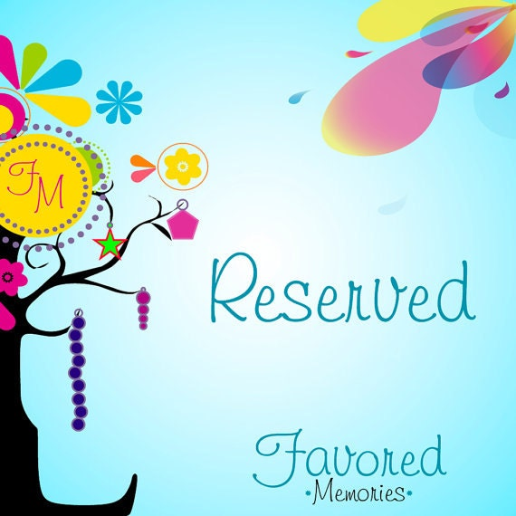Reserved for Leisa