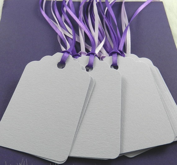 Lavender Gift Tags -- 15