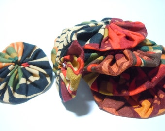 Make your own Fall Creation - DIY project, necklace, hair band, brooch, pin