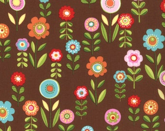 Cherry On Top - Candy Garden in Chocolate by Keiki for Moda Fabrics - Last Yard