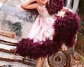 Plum Licious Girls Princess Dress