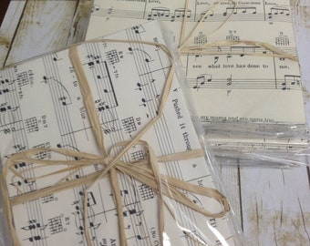 Vintage Sheet Music Envelopes- 20 count
