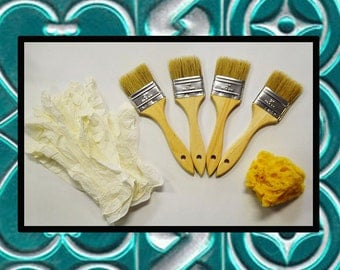 SALE BLOW OUT Ten Seconds Studio VerDay Accessory Pack - Brushes - Sponge - Gloves -