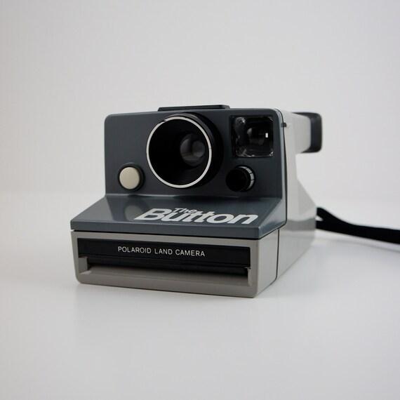 "Polaroid ""The Button"" Land Camera (SX-70 Film)"