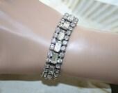 Rhinestone Bling Bracelet Gorgeous, Bold
