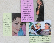 Funny Magnets For Women of a Certain Age Sassy Sayings