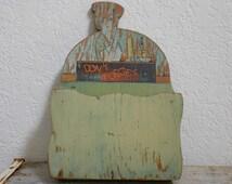 Vintage Green Kitschy Kitchen Message Center
