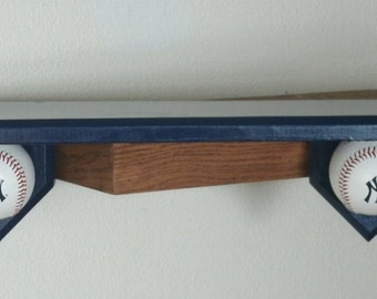 Theme shelf. sports themed shelf perfect for the kids room or man cave