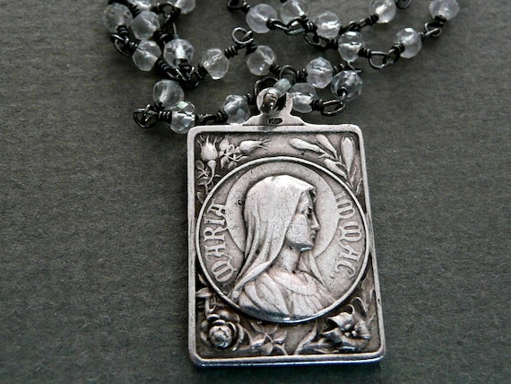 Immaculate Mary Necklace