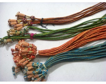 5 Pieces Adjustable Indian Cords With Tassels