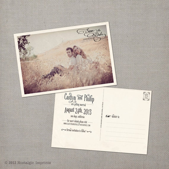 Shop Save The Date Postcards Magnetstreet | Party Invitations Ideas