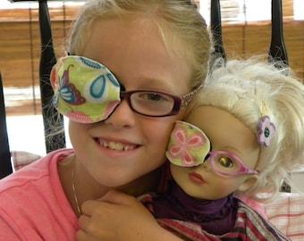 American Girl Doll Eye Patch Set - REVERSIBLE