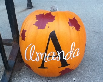 personalized pumpkin etsy - Personalized Halloween Decorations