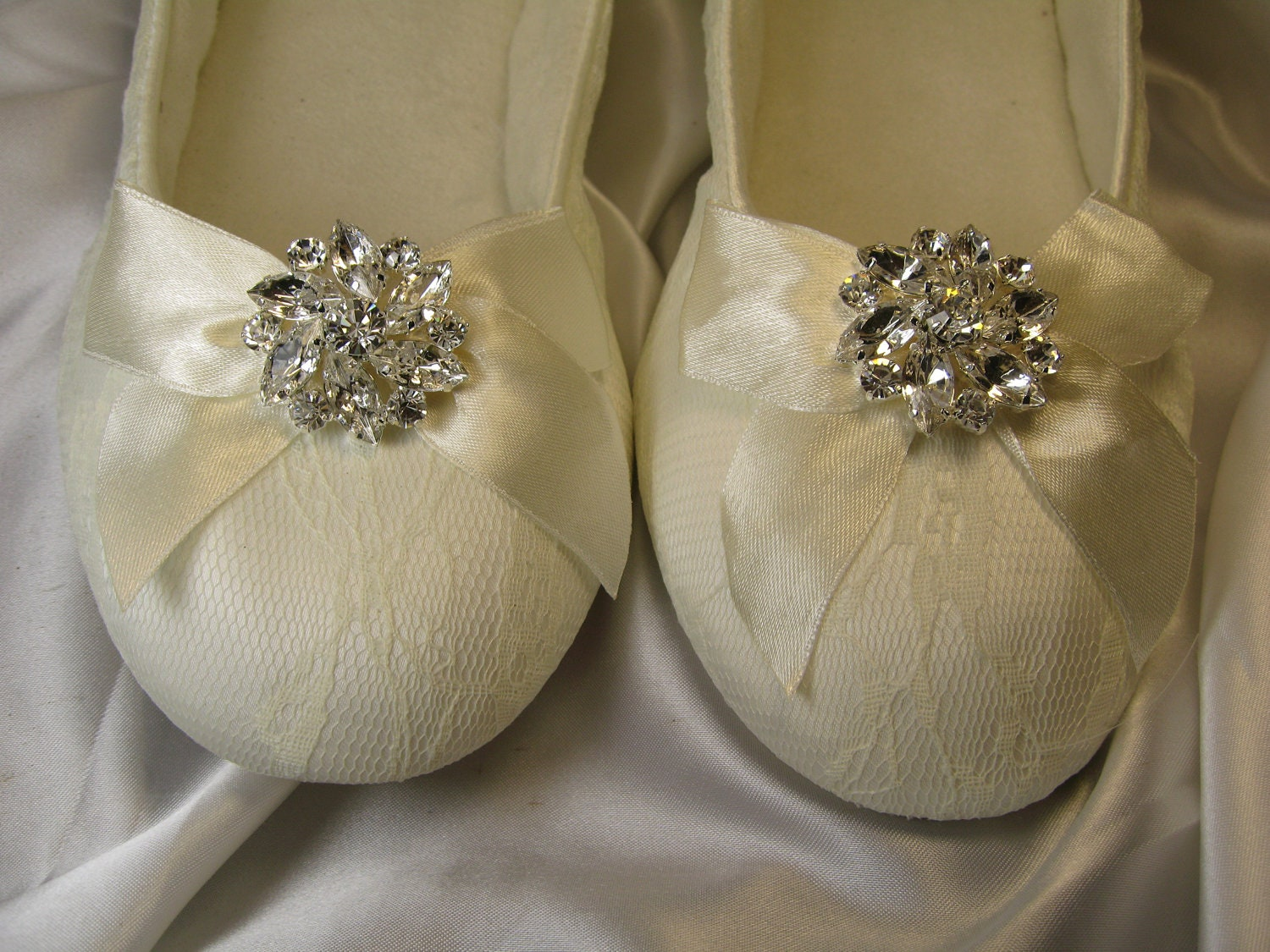 Wedding Wedding Ballet Flats sale ivory ballet flat wedding shoes with crystal flower